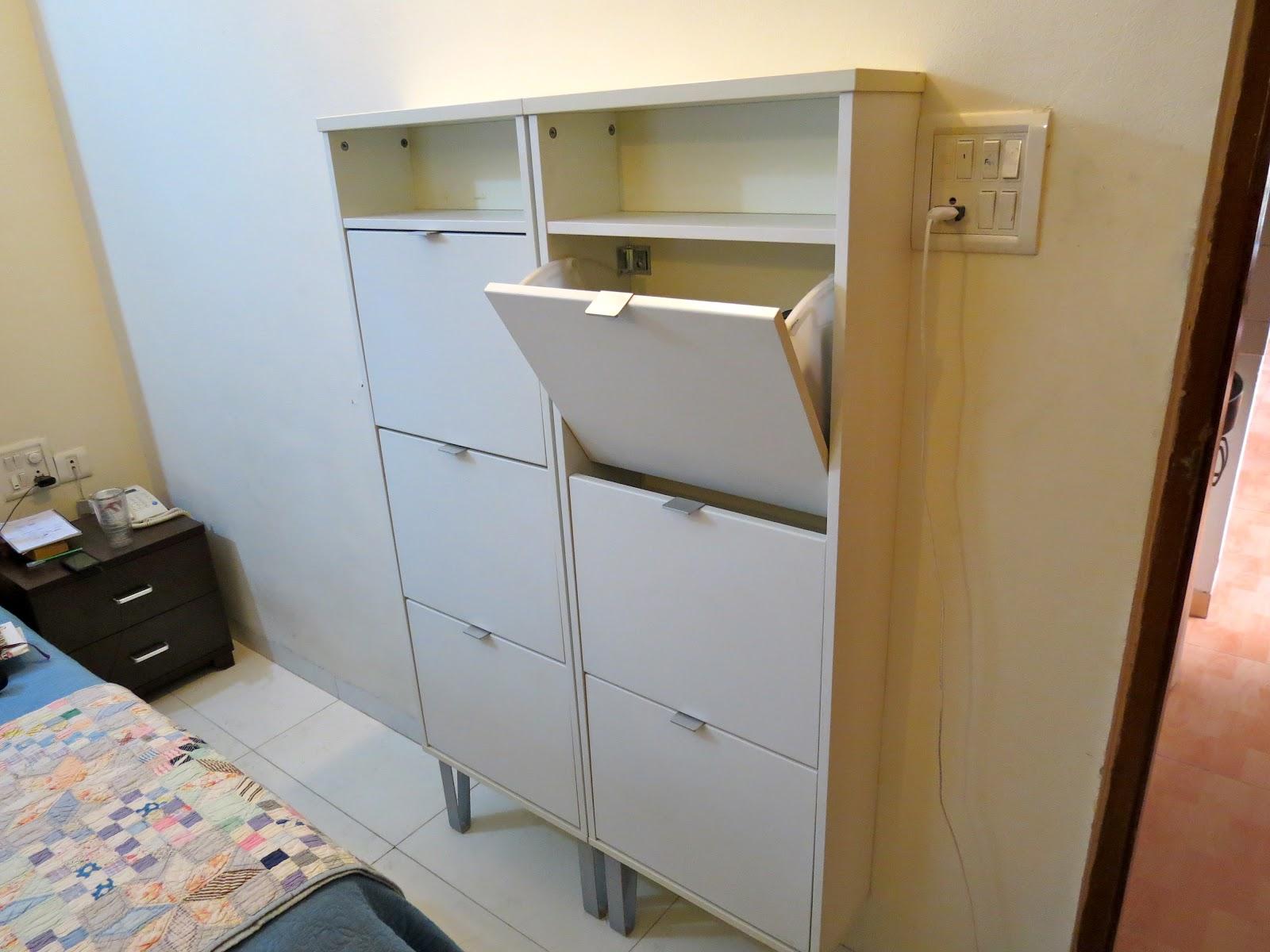 Шкафове за обувки бебели по поръчка мебели от ПДЧ и